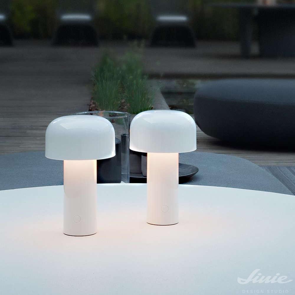 Flos Bellhop White bílá venkovní lampa
