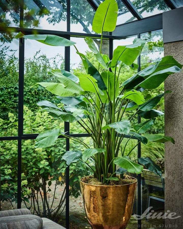luxusní vysoké umělé rostliny v květináči silk-ka