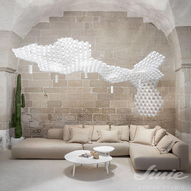 nuvem artemide slamp svítidlo luxusní do velkého prostoru