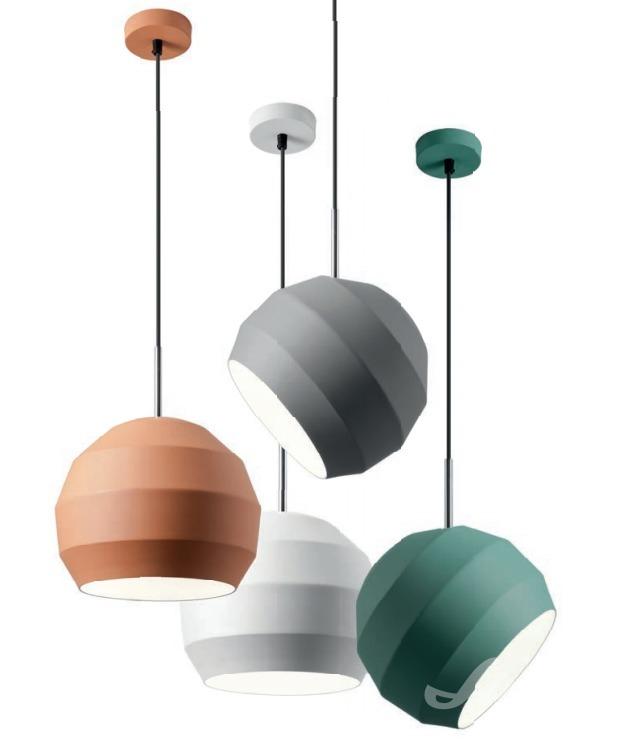 redo group designové barevné závěsné světlo nad jídelní stůl různé barvy