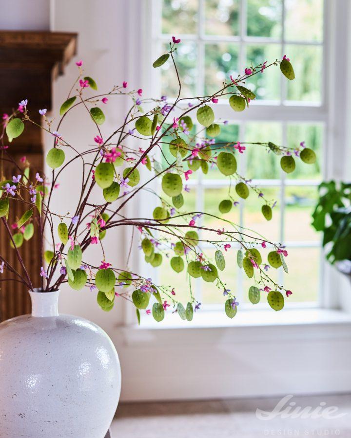 Silver Dollar Silk-ka luxusní umělé květiny