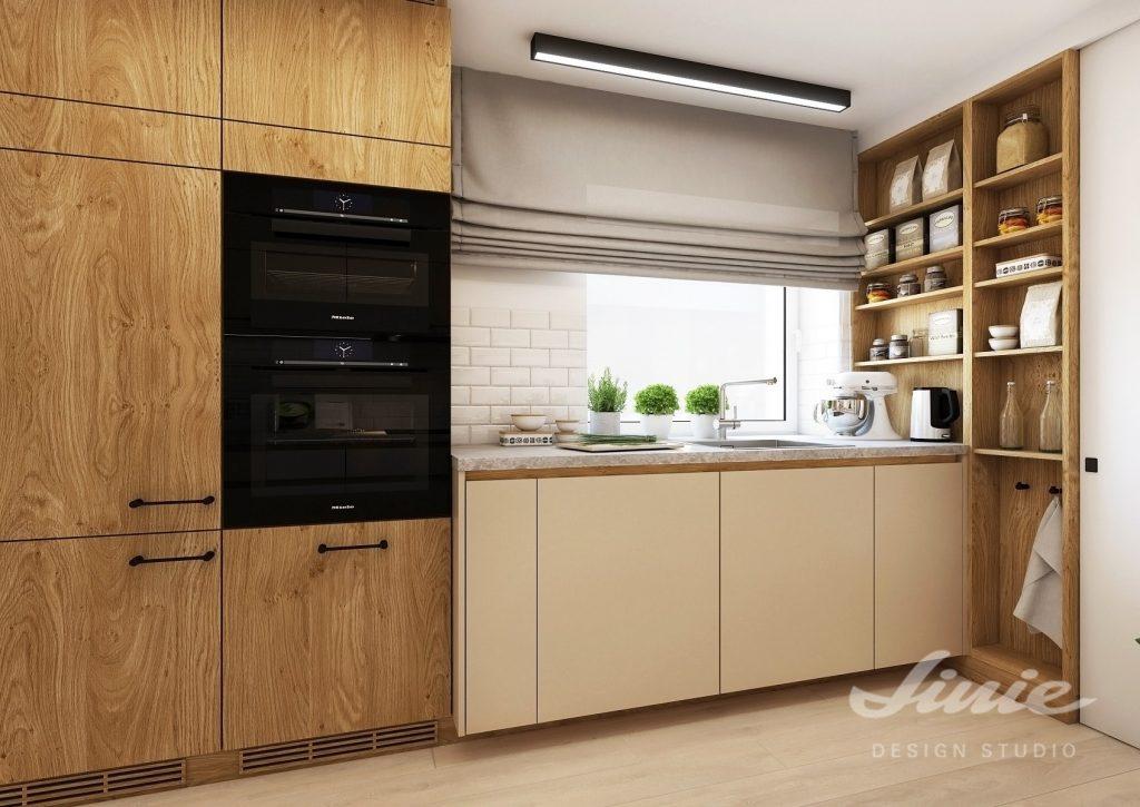 Kuchyně s oknem inspirace řešení