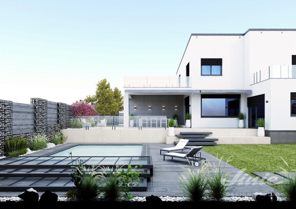 Moderní návrhy zahrad zahradní architekt