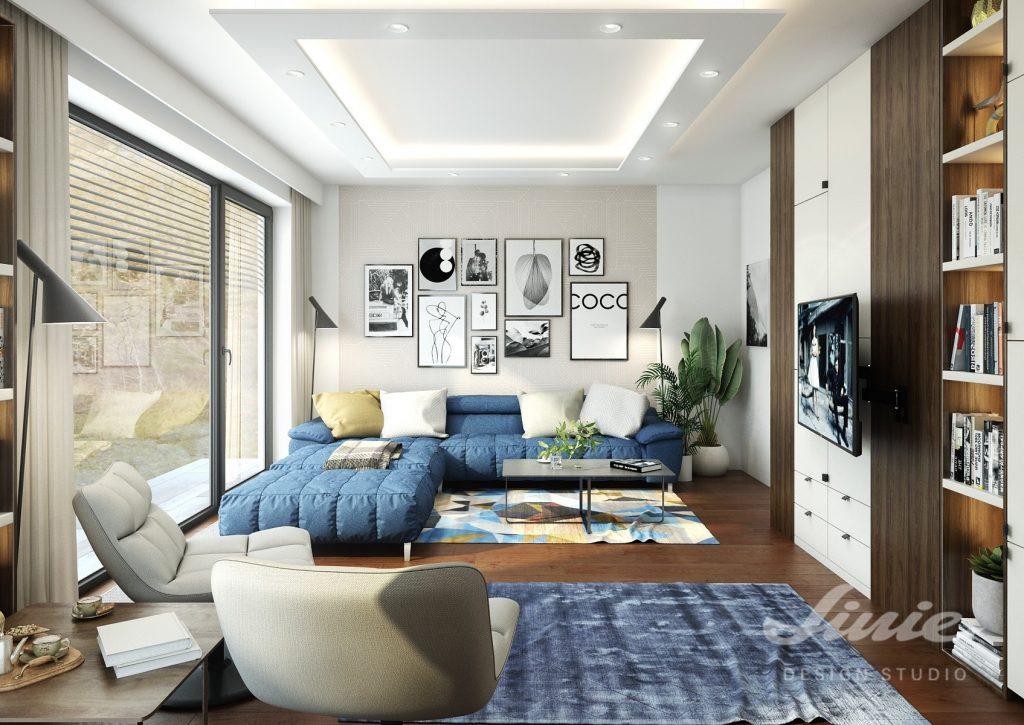 Inspirace obývací pokoj