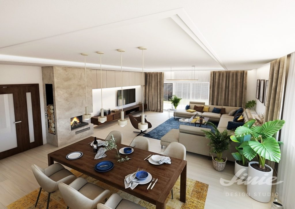 Inspirace obývací část